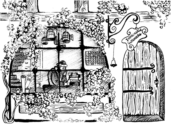 L'histoire d'Amelie et les mots oubliés, roman pédagogique